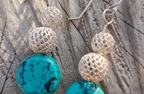 Silver 925 Fall Earrings